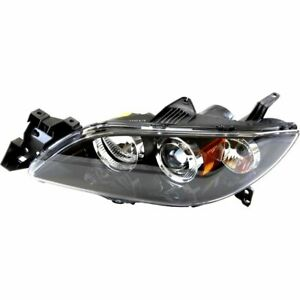 Headlight For 2004 2005 2006 Mazda 3 Sedan Left Hid