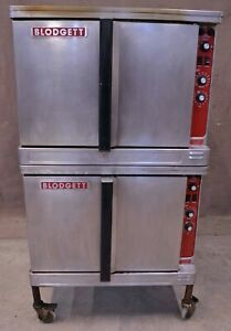 Blodgett Electric Mark V 111 Double Stack Deck Full Size Convection Oven Bakery