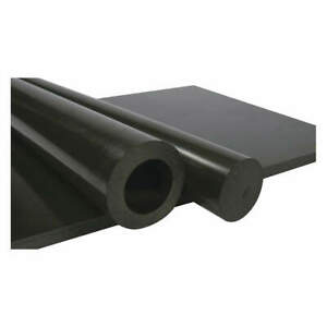 Rod Stock black 5 Ft L 3 Dia uhmw pe 69611104