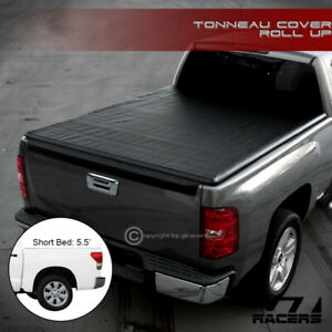 For 2007 2016 Toyota Tundra 5 5 66 Short Bed Lock Roll Soft Tonneau Cover Jr