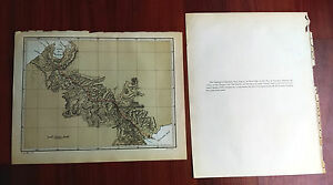 1883 Map Of Panama And Navy Bay Showing Cpt Lull S Location For A Lock Canal