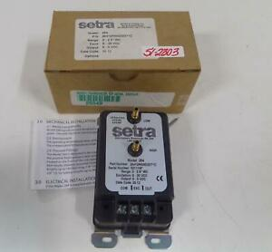 Setra Model 264 Differential Pressure Transducer 26412r5wd2dt1c