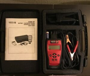 Matco Tools Sabre Hp Spx Otc Battery Electric System Diagnostic Tester W Case