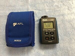 Afl Noyes Csm1 Sm Mm Fiber Optic Power Meter Csm1 2 W Pouch