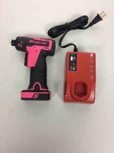 New Snap On Lithium Ion Cts725p 14 4 V 1 4 Hex Cordless Screwdriver Open Box
