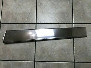1981 1987 Chevy Gm Oldsmobile Pontiac Buick Chrome Rear Rh Panel Quarter Trim