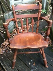 Cushman Colonial Creations Arm Chair Model 7031a