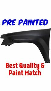 Pre Painted Driver Lh Fender For 2005 2010 Jeep Grand Cherokee W Free Touch Up