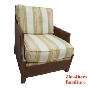 Thomasville Tommy Bahama Style Wicker Living Room Lounge Chair