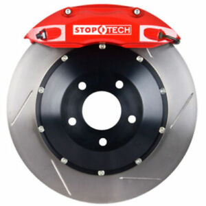 Stoptech 83 626470071 Front Big Brake Kit 355mm X 32mm 2 Piece Slotted Rotors Re