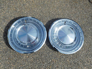 1962 1963 Lincoln Continental 15 Hubcaps