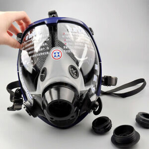 Usa Full Face Facepiece Respirator Painting Spraying Gas dust Mask For 3m 6800