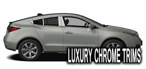 Acura Zdx Stainless Steel Chrome Pillar Posts By Luxury Trims 2010 2013 8pcs