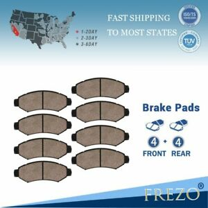 For Ford Expedition Lincoln Navigator 2002 2004 Front Rear Ceramic Brake Pads