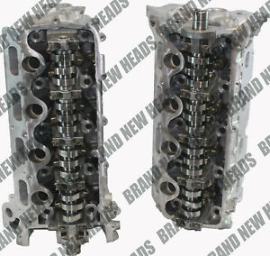 Brand New Ford F 150 F 250 F 350 3 Valve Cylinder Heads 5 4 4 6 Cast 3l3e Pair