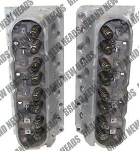 New Chevy Gmc Gm 317 6 0 Cylinder Heads Pair Silverado Suburban Hummer 99 07