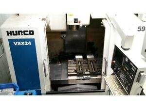 2004 Hurco Vmx24 Vertical Machining Center Cnc Ref 7796429