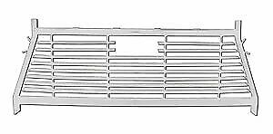 Westin 57 8033 Hdx Headache Rack 2009 16 Dodge Ram White