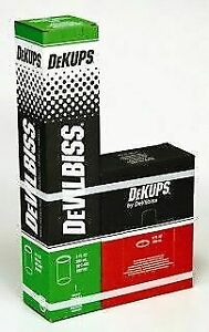 Devilbiss Dekups Dpc 602 Disposable 9 Oz Cups Lids 802102