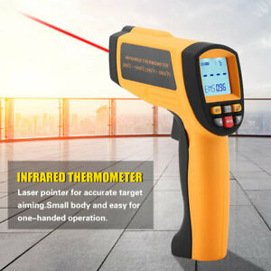 Gm1650 Non contact Lcd Ir Laser Infrared Digital Temperature Thermometer Gun Wt