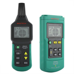 Ms6818 12v 400v Wire Cable Locator Metal Pipe Detector Tester Line Tracker Wt