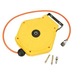 8m Automatic Retractable Pneumatic Air Hose Reel With 1 4in Air Inlet Connector