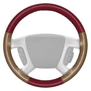 For Honda Accord 13 20 Steering Wheel Cover Europerf Perforated Burgundy
