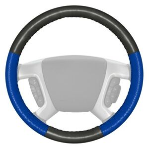 For Honda Insight 00 06 Steering Wheel Cover Europerf Perforated Charcoal