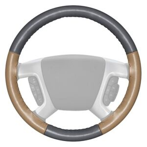 For Toyota Mirai 17 Steering Wheel Cover Eurotone Two color Gray Steering Wheel