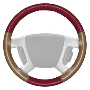 For Porsche Cayenne 09 10 Steering Wheel Cover Europerf Perforated Burgundy