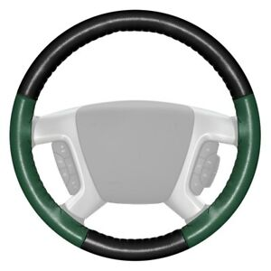 For Toyota Sienna 15 17 Steering Wheel Cover Eurotone Two color Black Steering