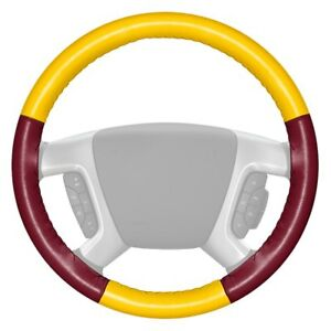 For Volkswagen Eurovan 93 96 Steering Wheel Cover Eurotone Two color Yellow