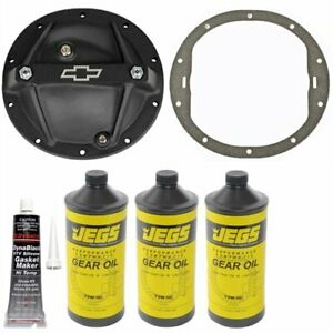 Proform 141 696k Differential Cover Kit Gm 8 2 8 5 10 Bolt Rear End Includes D