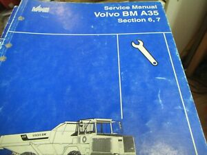 Volvo Bm A35 Sections 6 7 Service Manual