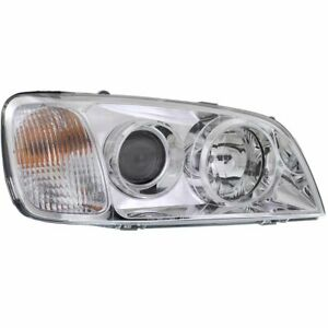 Headlight For 2004 2005 Hyundai Xg350 Right Clear Lens Halogen Composite Type