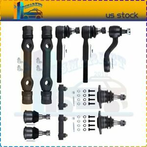 11 Pair Front Lower Ball Joints Tie Rod Ends Kit Fits For 1987 1991 Gmc R3500