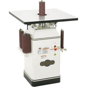 Shop Fox W1686 1 Hp Oscillating Spindle Sander new In Box