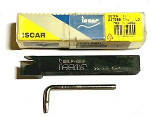 Iscar Sgtfr 16 4 F cut Parting Grooving Tool Holder Made In Israel
