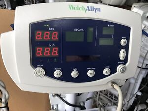 Welch Allyn 53nto Vital Signs Monitor 300 Series Spo2 Temp Nibp