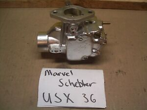 Oliver 1750 1755 1800 1850 1855 Gas Farm Tractor Carburetor Marvel Schebler 36