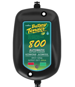 Battery Charger Maintainer For Motorcycle Lawn Mower Atv Boat Jet Ski Marine 12v