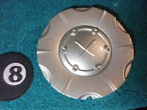 Re Finished Exel X Silver Custom Wheel Center Cap Hub Part Abs 5 7 8 O D