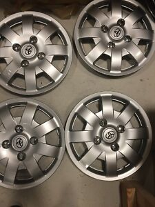 4 14 New Toyota Yaris 2005 2006 2007 2008 Wheel Cover Hub Caps Hubcaps Wheel