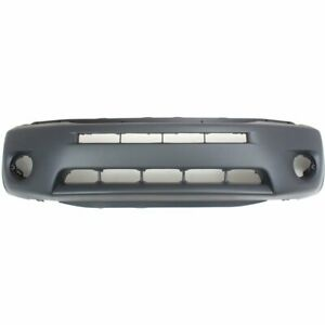 Bumper Cover For 2004 2005 Toyota Rav4 Front Paint To Match With Fog Light Holes