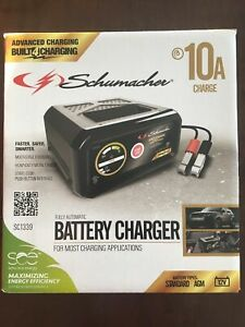 Schumacher 10 Amp Fully Automatic Battery Charger