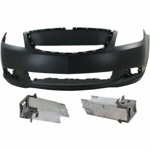 Front Bumper Cover Kit For 2010 2013 Buick Lacrosse W Bumper Bracket Primed