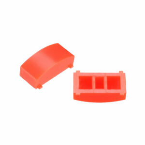 50pcs 12 4x4 5mm Tact Switch Caps Cover Red For 8x8 Latching Pushbutton Switch