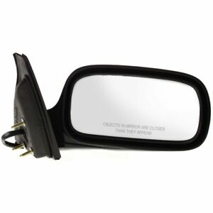 Power Mirror For 2006 07 Buick Lucerne Cx Cxl Cxs Right Manual Fold With Memory