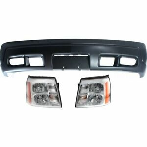 Front New Kit Auto Body Repair For Cadillac Escalade Esv Ext 2003 2006