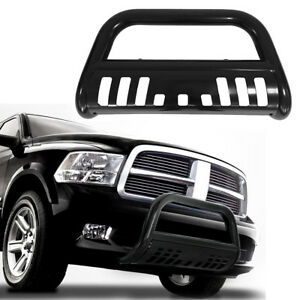 Bull Bar Fit 2009 2018 Dodge Ram 1500 Front Bumper Brush Push Grill Guard